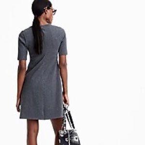 ⭐️ J. Crew Sunset Cotton Grey Knit Dress Size L ⭐️